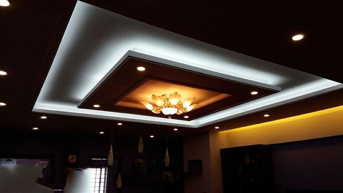 đèn led trang trí trần thạch cao