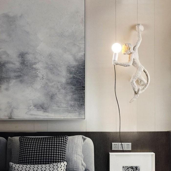 Đèn tường phòng khách phong cách độc lạ - Đèn treo tường