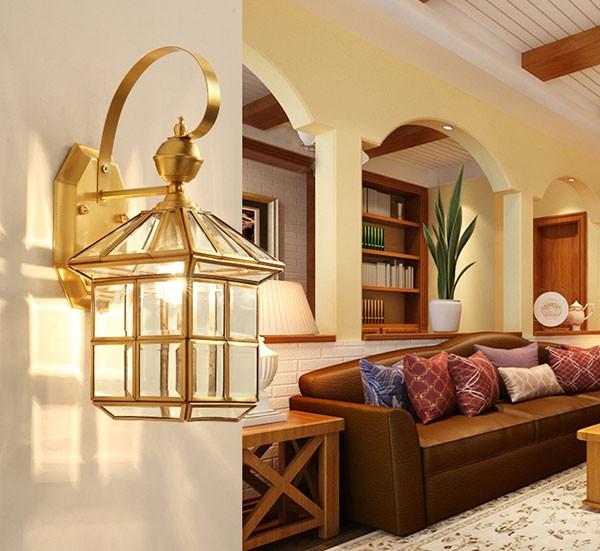 Đèn treo tường trang trí phòng khách - Đèn gắn tường trang trí phòng ngủ