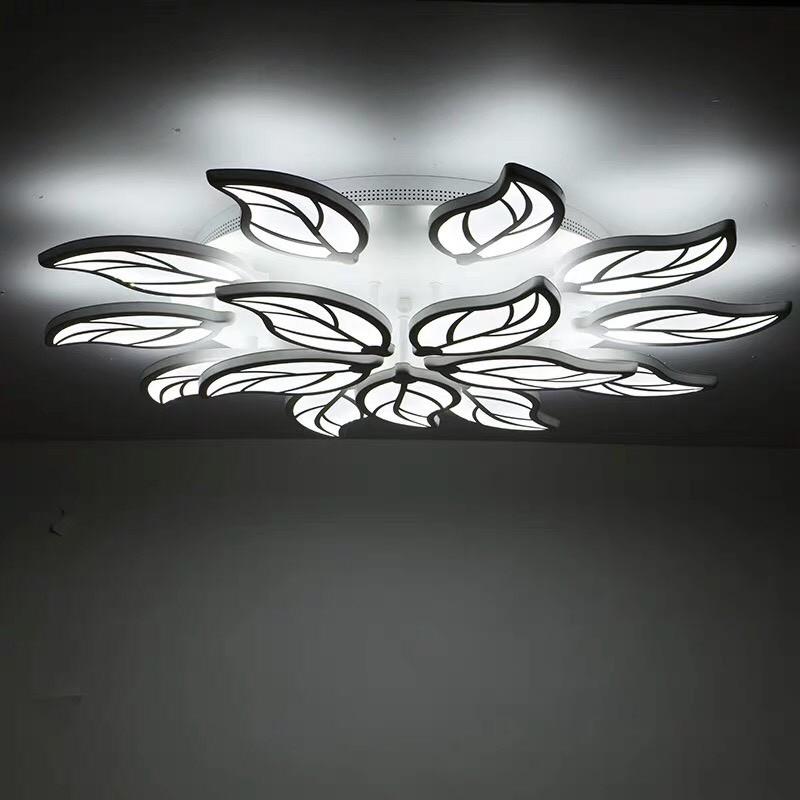 Đèn ốp trần hình lá HTM-43