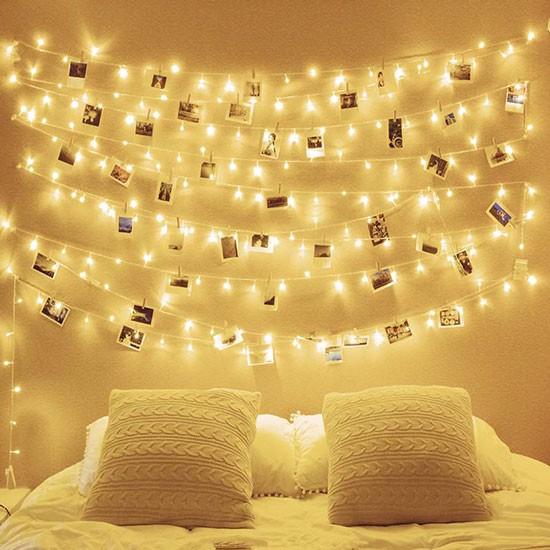 Đèn LED dây treo tường phòng ngủ - Đèn LED treo tường phòng ngủ dây