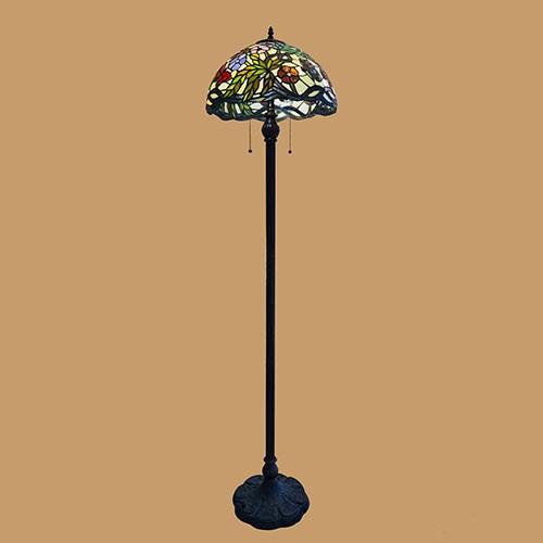 Hình ảnh Chao đèn Tiffany hình cây - Chóa đènTiffany đẹp