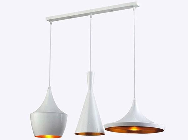 Chao đèn nhôm giá rẻ, chụp đèn nhôm trang trí phòng khách, phòng ngủ