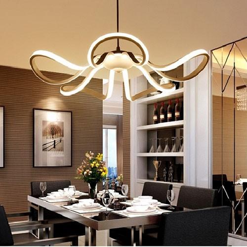 Đèn bàn ăn hiện đại thả trần LED nghệ thuật
