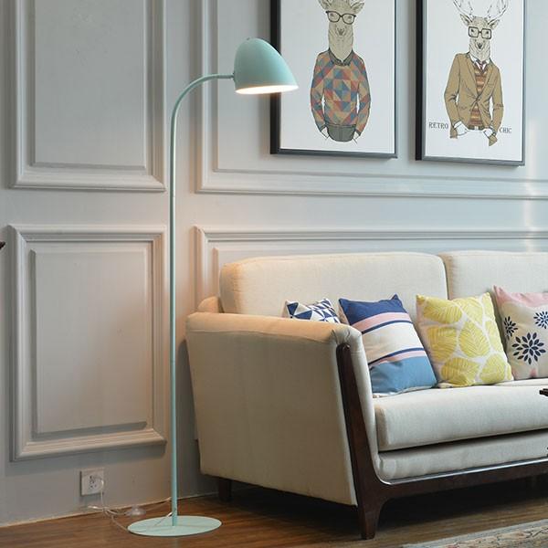 Đèn cây trang trí góc sofa phong cách châu Âu - Đèn cây đứng góc sofa phong cách châu Âu