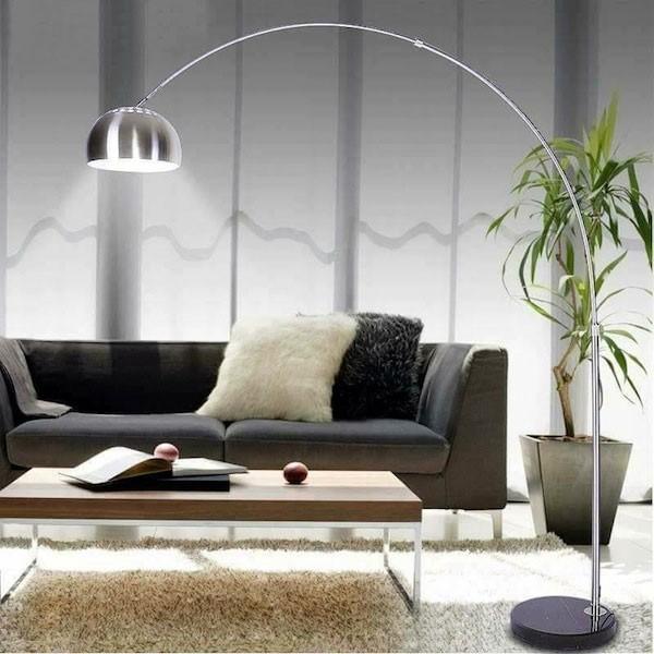 Đèn cây đứng trang trí góc sofa phong cách Ý -Đèn cây góc sofa Ý