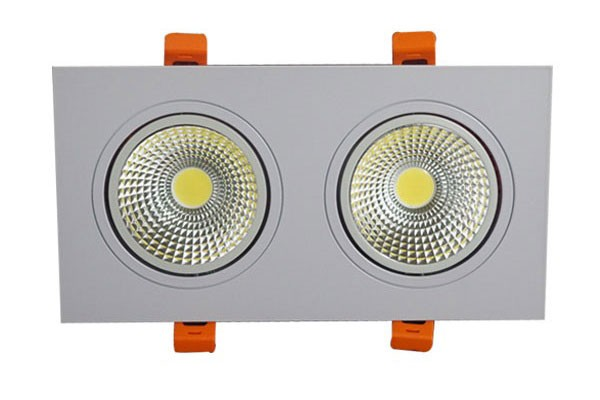 Đèn LED downlight đôi 9W