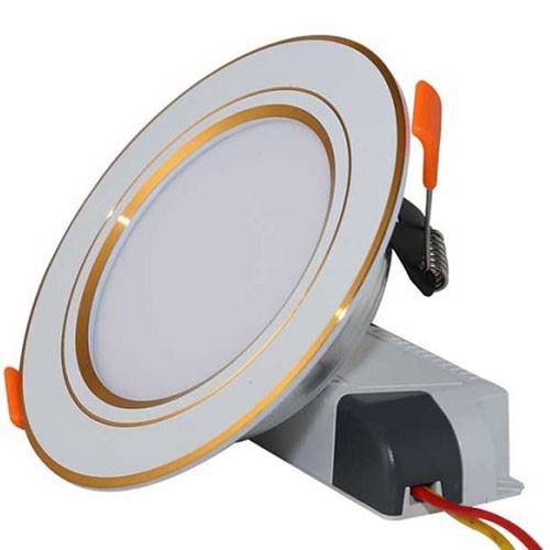 Đèn trang trí downlight âm trần - Đèn LED trang trí downlight âm trần 3 chế độ- Đèn Âm Trần
