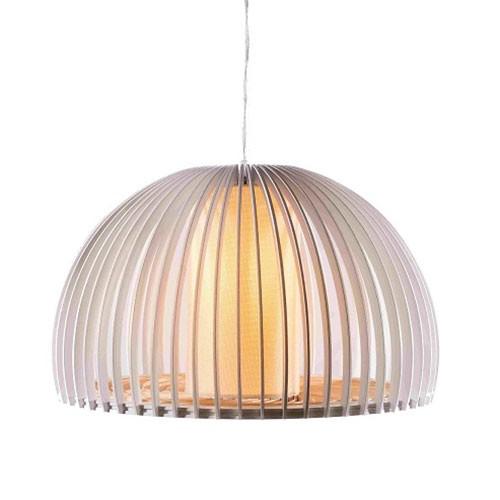 Đèn thả trần gỗ vòng xoáy - Đèn gỗ thả trần