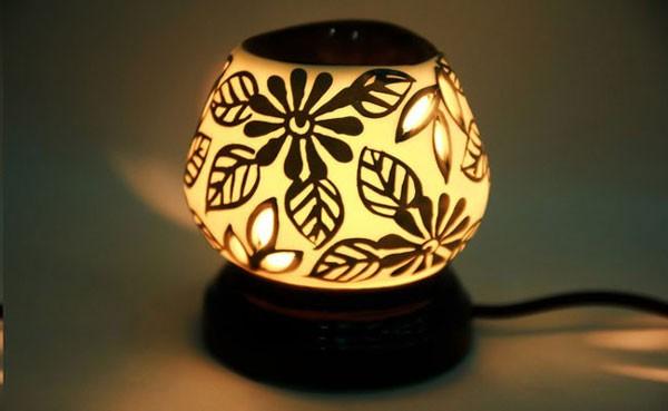 Đèn gốm - Đèn gốm sứ - Đèn gốm bát tràng