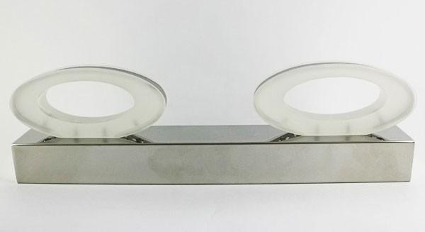 Đèn led gương 2 chao 8W cho phòng tắm - Đèn gương toilet 2 chao 8W