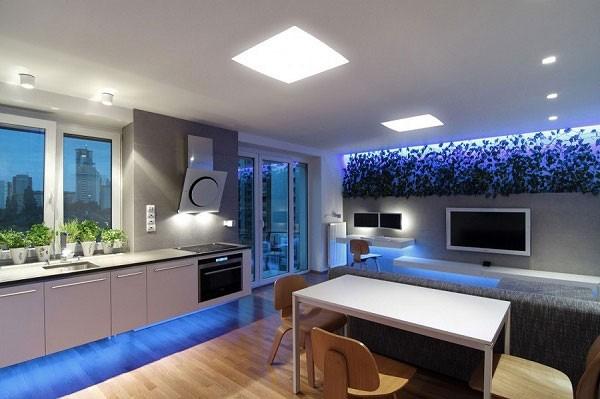 Đèn ốp trần vuông 400x400
