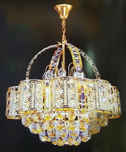 Đèn Chùm Pha Lê - Đèn Pha Lê - Đèn Chùm Pha Lê Phòng Khách