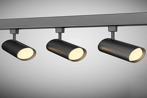 Đèn rọi ray 3w - Đèn LED rọi ray 7w- Đèn rọi ray 12w 3 bóng