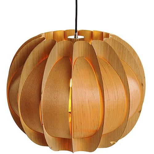 Đèn thả trần trang trí gỗ mộng mơ- Đèn gỗ thả trần