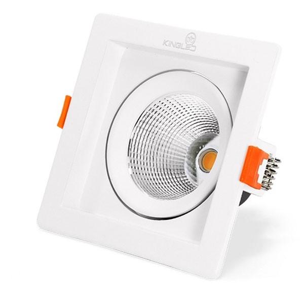 Đèn LED vuông âm trần 20w