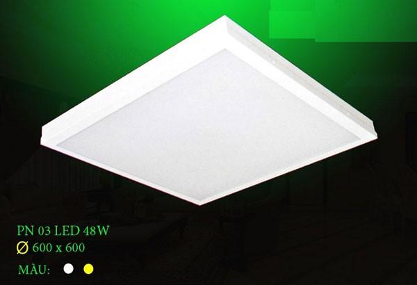 Đèn dowlight âm trần vuông 48W