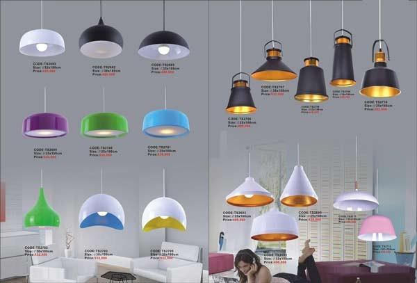 Đèn thả bàn ăn hiện đại- Đèn thả trần