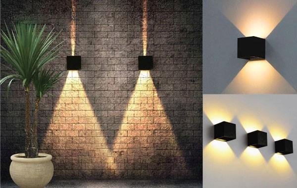 Đèn LED hắt tường ngoài trời 9w
