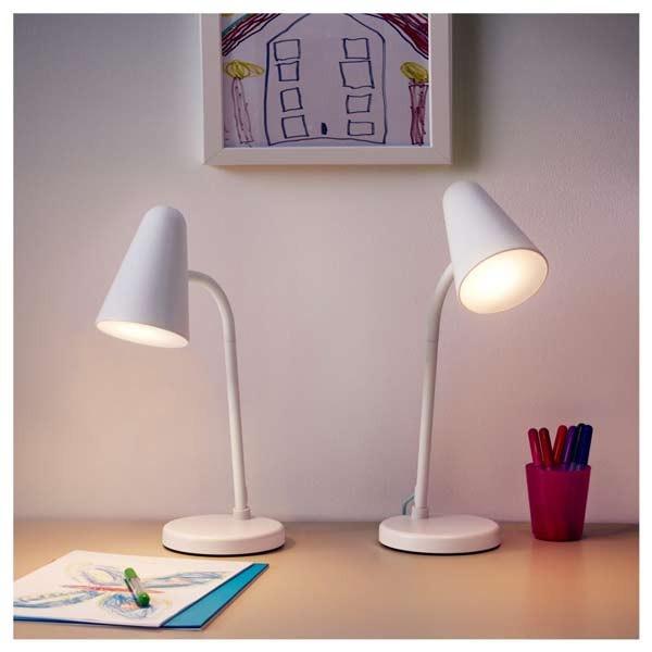 Đèn học cho bé lớp 1 Ikea Fubbla