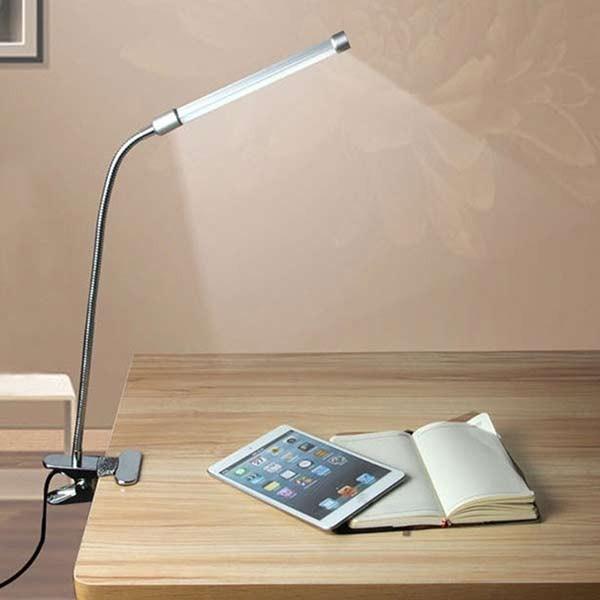 Đèn LED kẹp bàn V-light 13w - Đèn LED kẹp bàn học V-Light 13w- Đèn Bàn