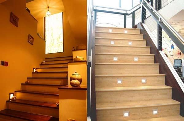 Đèn LED ốp tường cầu thang 5w - Đèn cầu thang 5w