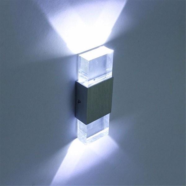 Đèn treo tường phòng ngủ pha lê - Đèn ngủ gắn tường hiện đại pha lê