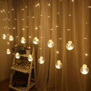 Tổng hợp mẫu đèn nháy thả mành trang trí nội, ngoại thất đẹp 2019