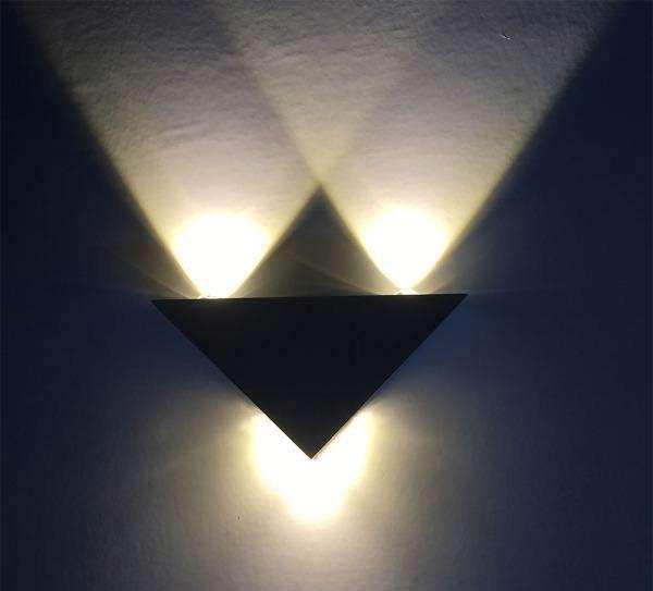 Đèn ốp tường cầu thang hình tam giác - Đèn trang trí ốp tường cầu thang- Đèn ốp tường