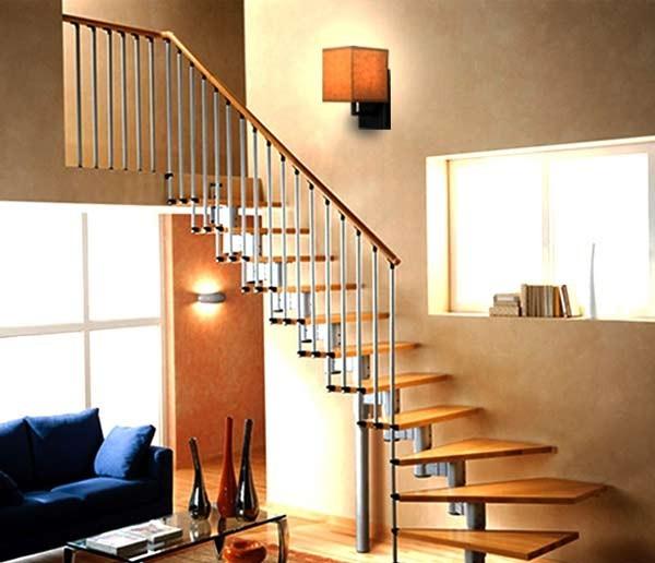 Đèn ốp tường treo cầu thang thủy tinh - Đèn gắn tường cầu thang thủy tinh- Đèn ốp tường