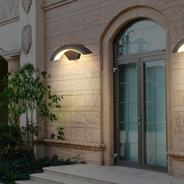 Đèn ốp tường ngoài trời hiện đại - Đèn LED trang trí ốp tường hiện đại- Đèn Ốp Tường