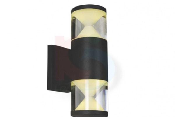 Đèn ốp tường trang trí ngoài trời 9w 2 đầu - Đèn LED ốp tường ngoài trời 9W- Đèn Ốp Tường