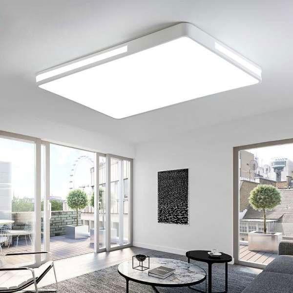Đèn trần phòng khách - Đèn ốp trần trang trí phòng khách