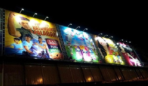 Đèn rọi biển quảng cáo - Đèn led rọi biển quảng cáo - Đèn soi quảng cáo