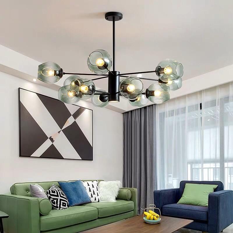 Đèn chùm phòng ngủ thả hiện đại - Đèn chùm