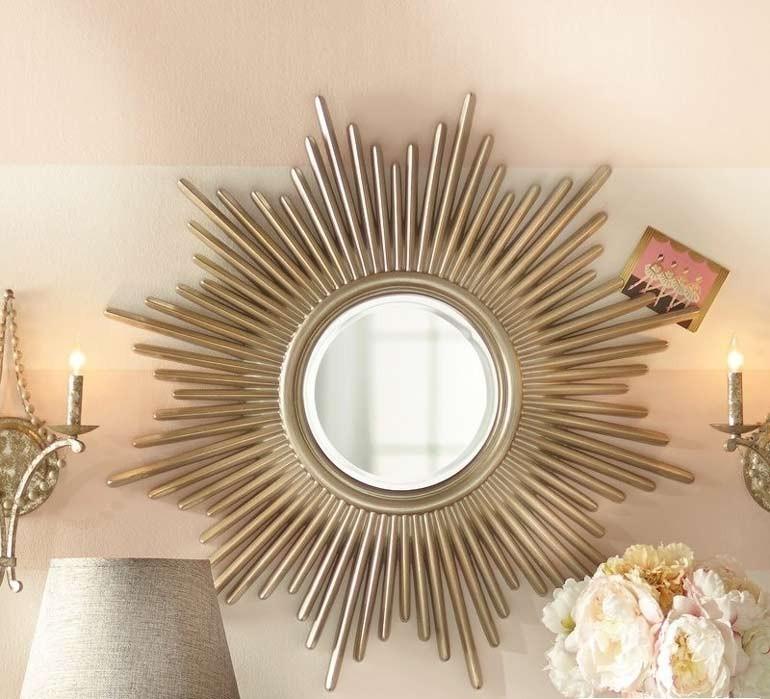 gương trang trí phòng khách Aten