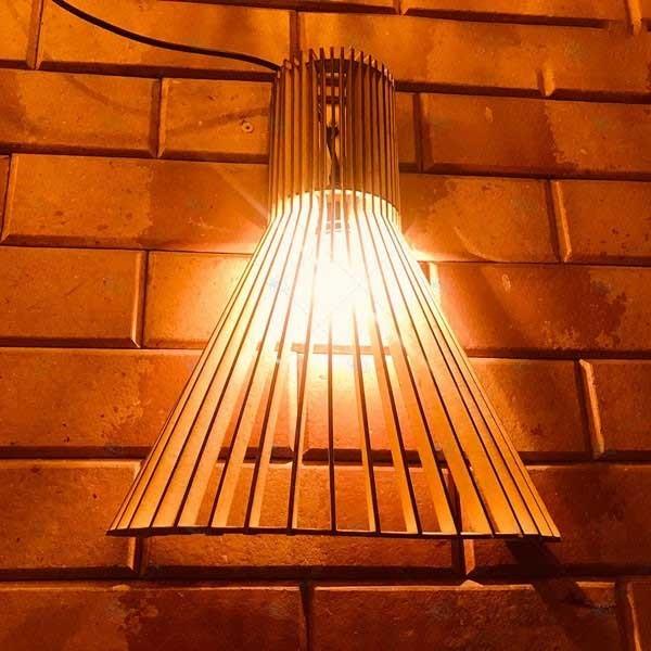 Đèn gỗ treo tường - Đèn treo tường