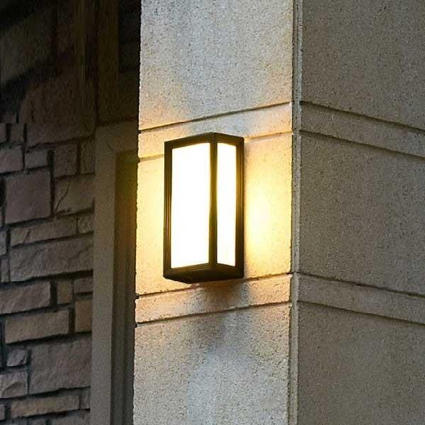 Đèn LED trang trí ốp tường ngoài trời - Đèn ốp tường ngoài trời chống nước- Đèn Ốp Tường