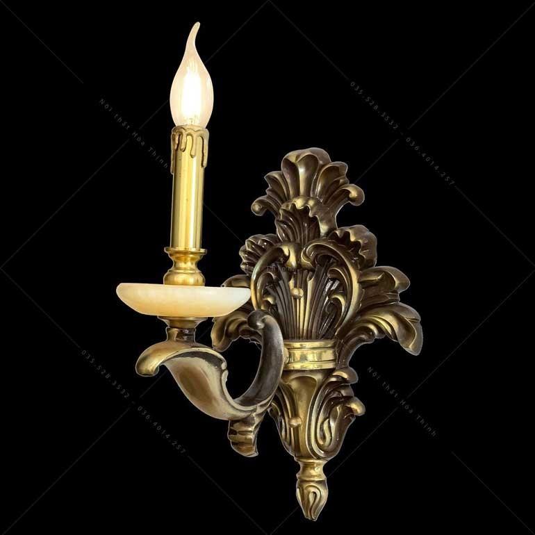 Đèn ốp tường đồng cầu thang - Đèn treo tường cầu thang bằng đồngML-9259-1- Đèn ốp tường