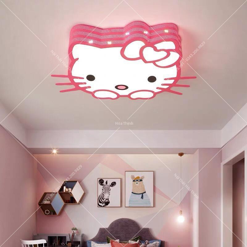Đèn ốp trần trẻ em Hello Kitty HTOP-84