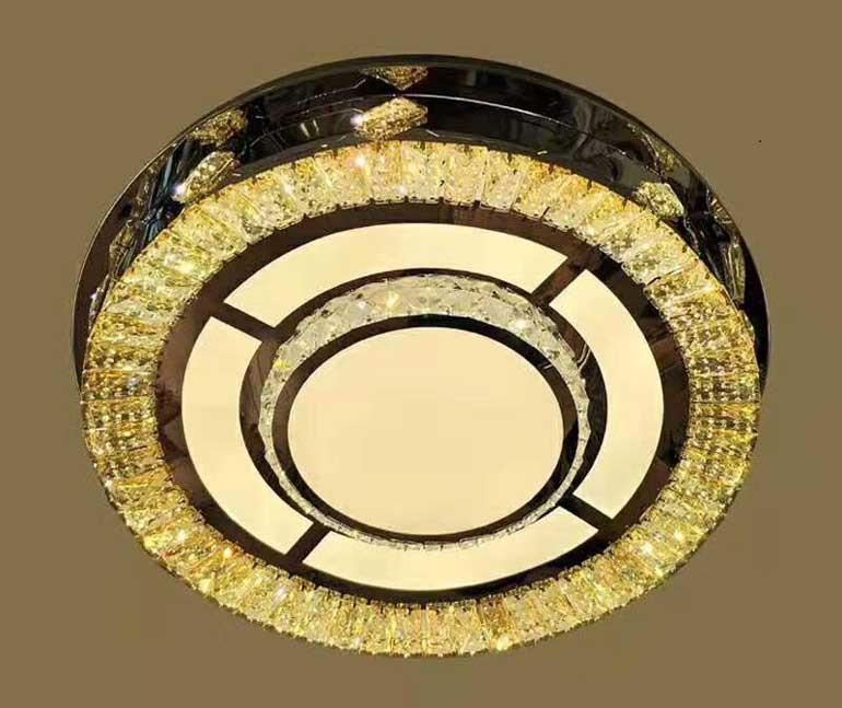 Đèn ốp trần pha lêHTM-05 -Đèn ỐpTrần - Đèn Trang Trí