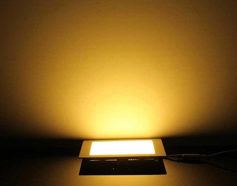 Đèn LED downlight 3 màu - Đèn LED âm trần 3 màu 18W SM-V-DM-18- Đèn âm trần
