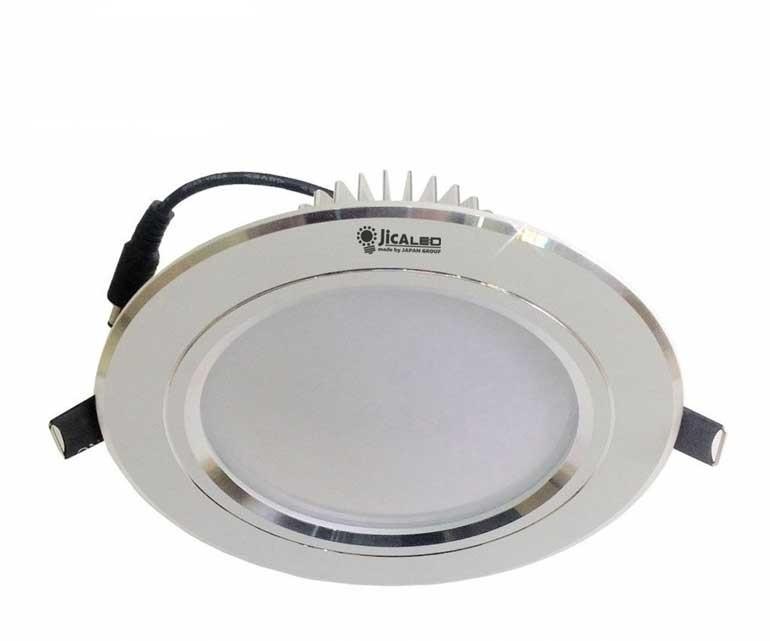 Đèn âm trần 3 màu - LED âm trần 3 màu 3W- Đèn âm trần