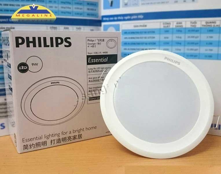Đèn LED âm trần9w Philips -Đèn LED downlight 9w Philips - Đèn LED Downlight