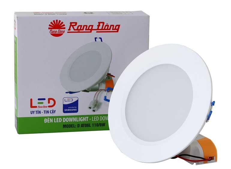 Đèn LED âm trần 9w Rạng Đông - Đèn LED downlight 9w Rạng Đông- Đèn LED âm trần