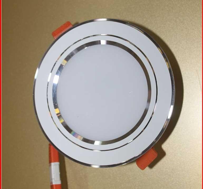 Đèn LED âm trần 3 màu - Đèn LED Downlight 3 màu 5W- Đèn âm trần