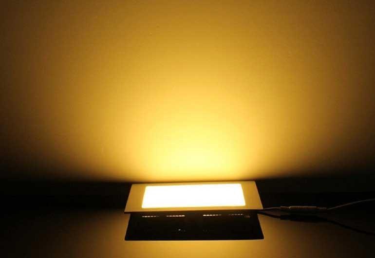 Đèn LED âm trần 12w loại nào tốt - ĐènLED trần nhà vuông 12W- Đèn âm trần