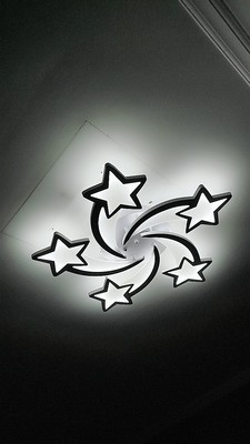 Đèn ốp trần ngôi sao HTOP-003
