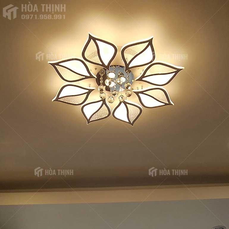 Đèn LED ốp trần thạch cao đẹp