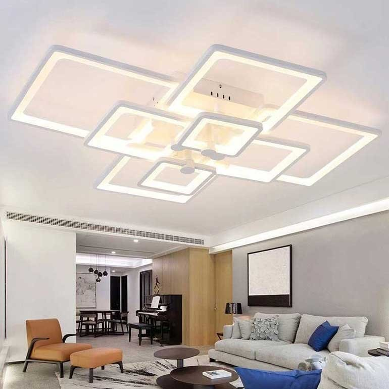 hướng dẫn cách bố trí đèn trần thạch cao phòng ngủ